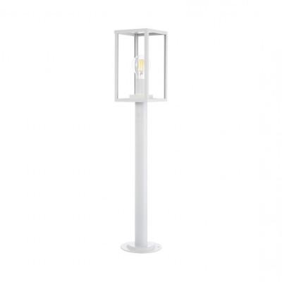 borne-blanche-68cm-potelet-balisage-exterieur-culot-e27-ip44220v-cage-moderne