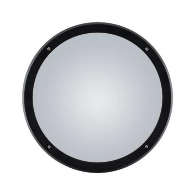 hublot rond noir ip65 double ampoule e27