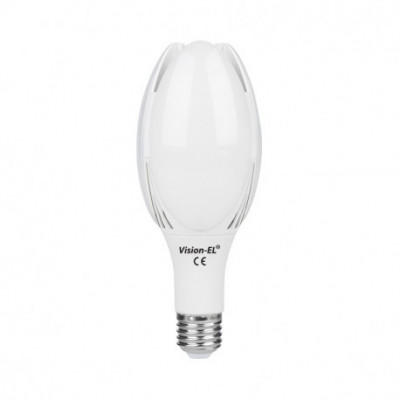 ampoule led culot e40 50W eclairage industriel publique lampadaire 300°-4000k-4950 lumens