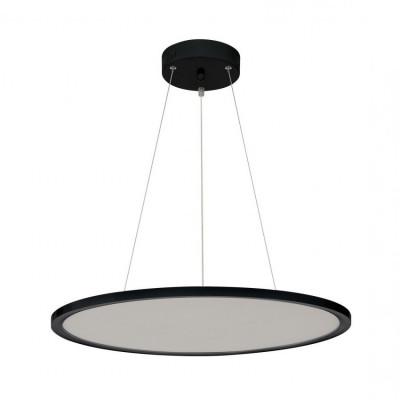 suspension-dalle-led-ronde-60cm-noire-aluminium-3200-lumens-4500k