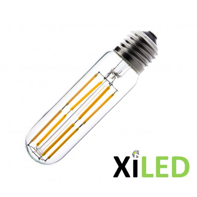 ampoule led filament variable culot e27 blanc chaud-600 lumens-13 cm