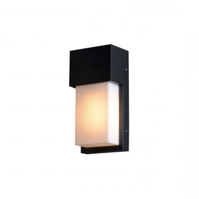 applique-exterieur-rectangle-noir-interieur-culot-e27-ip54-220v