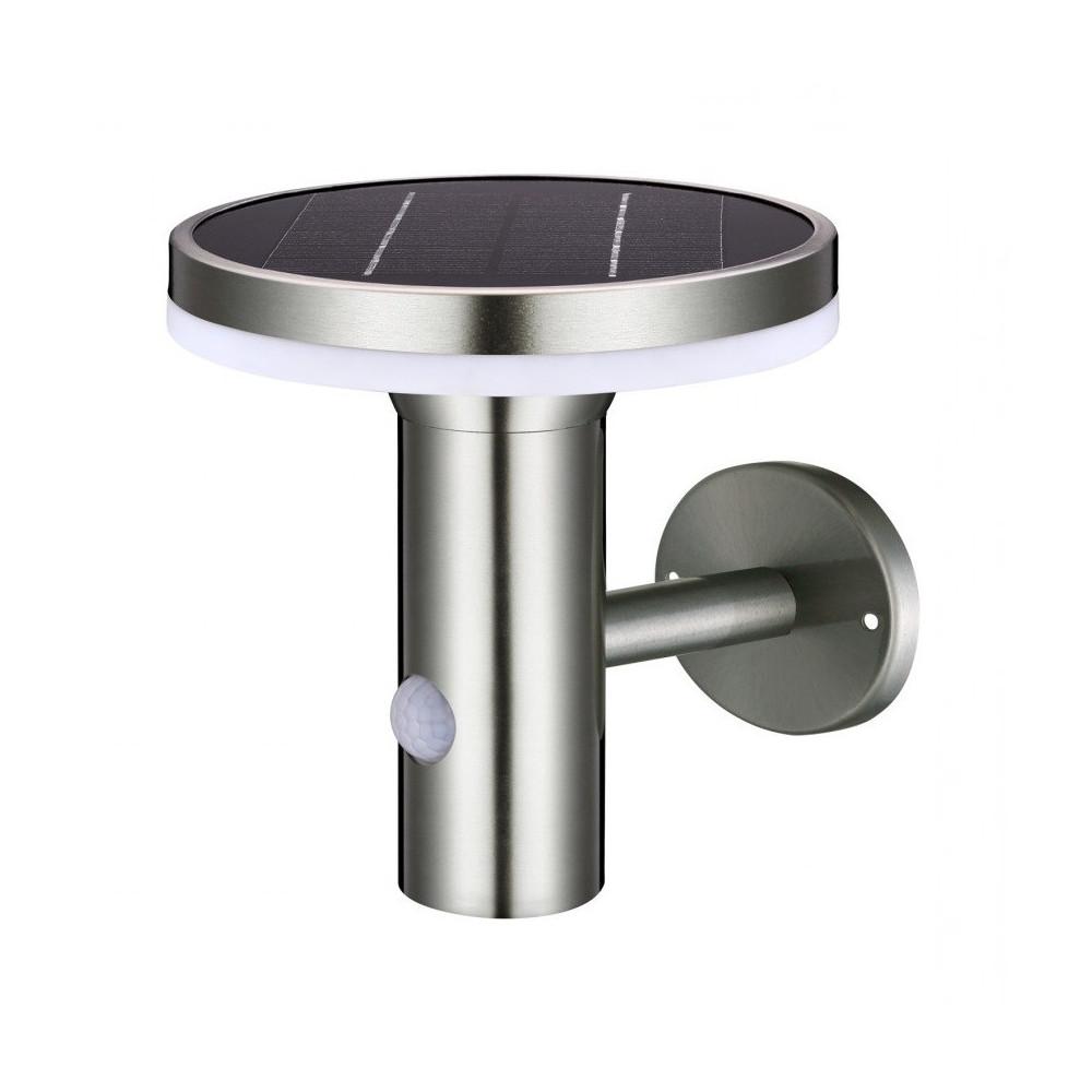 applique solaire detecteur de mouvement 6m-led -400 lumens 3000k-4000k-6000k
