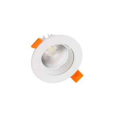 downlight led blanc encastrable 3w-240 lumens-3000k-4000k-6000k