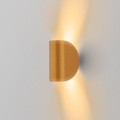 applique-led-orange-metalise-eclairage-indirect-haut-et-bas-6w-300-lumens-3000k