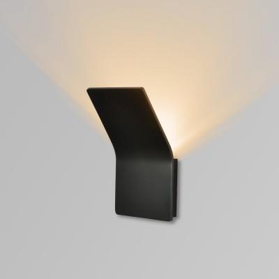 applique-led-noire-6w-420-lumens-3000k-balisage-couloir-chambre