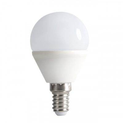 ampoule petit ballon led 5w-culot e14 a visser-12v ac-dc-3000K-4000k-6000k