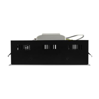 downlight luminaire encastrable 315x155mm double orientable 30w led dimmable 3000k-4000k-5500k