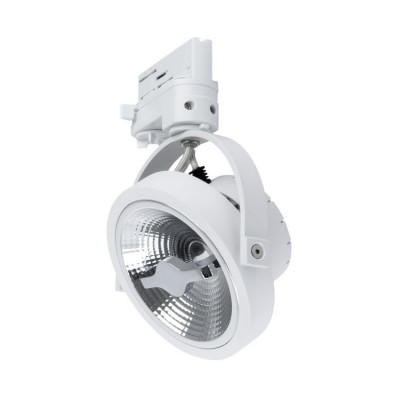 spot sur rail 3 allumages blanc led orientable variable angle 24°-800 lumens-3000k-4000k-6000k