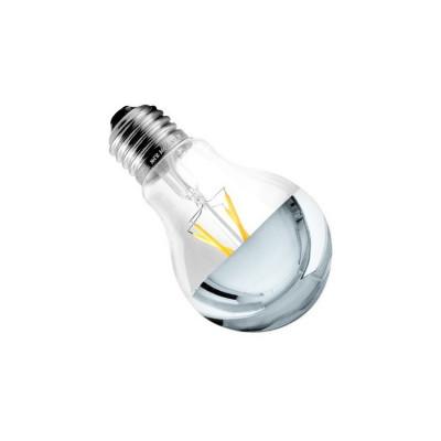 ampoule led filament dimmable culot e27 verre clair-reflecteur eclairage plafond-550 lumens-2200k