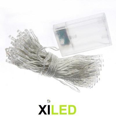 guirlande led 10m clignotement flash-220v-etanche-ip44-exterieur blanc froid 6000k