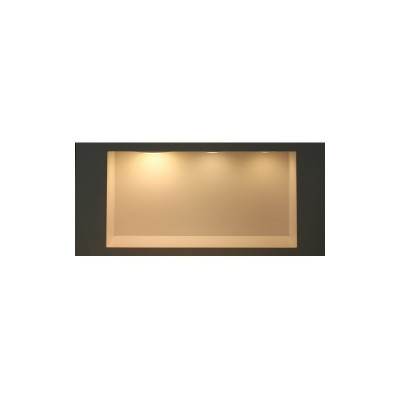 Spot Encastrable led 6w-420 lumens rond extra plat aluminium blanc cuisine
