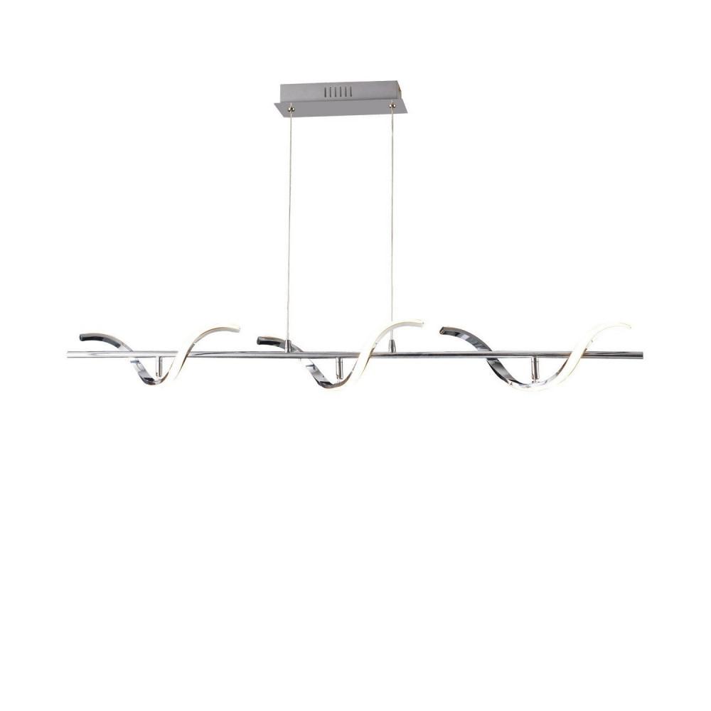 suspension triple spirale 1100mm-30w-1100 lumens suspendu 230v