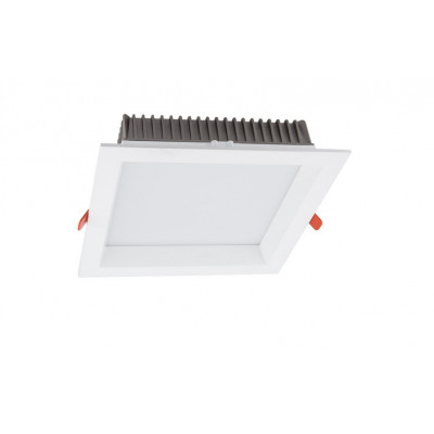 Luminaire led encastrable downlight carre 25w-3000 lumens