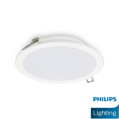 downlight philips led rond blanc encastrable 11w-1000 lumens 3000k