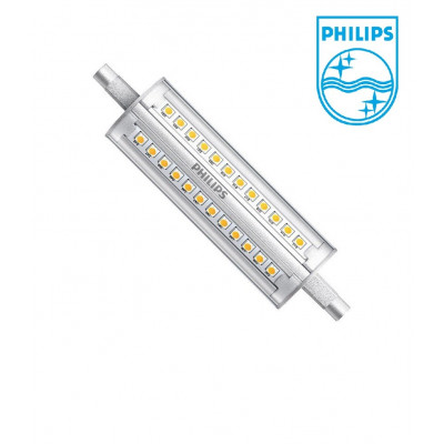 ampoule-led-crayon r7s philips dimmable-118mm-1600 lumens-3000k-4000k