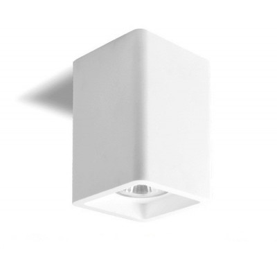 PLAFONNIER CARRE APPLIQUE LED 5W BLANCHE LAPI