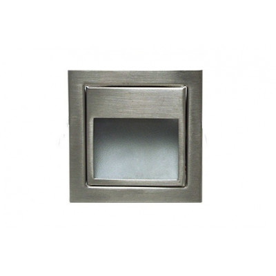Spot de balisage à 1.5w LED d'escalier mur encastrable inox