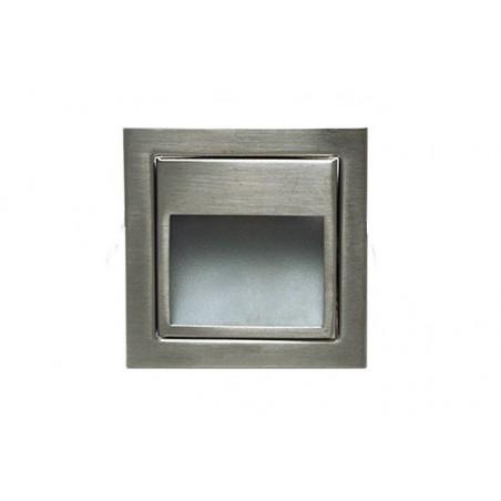 Spot de balisage à 1.5w LED d'escalier mur encastrable inox 3000k-4000k-6000k