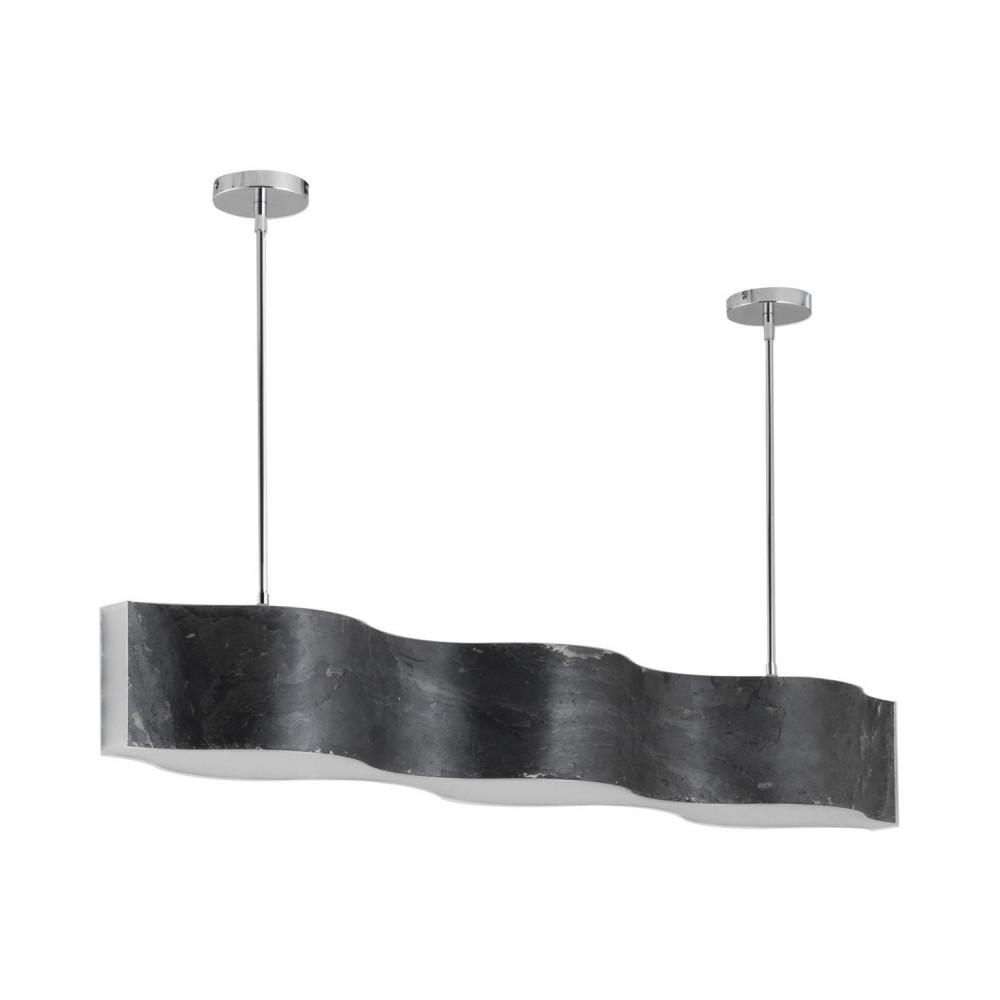 suspension-led-60w-noire-feuille-ardoise-1080mm-effet-vague-variable-7200-lumens-art-deco-moderne-contemporain