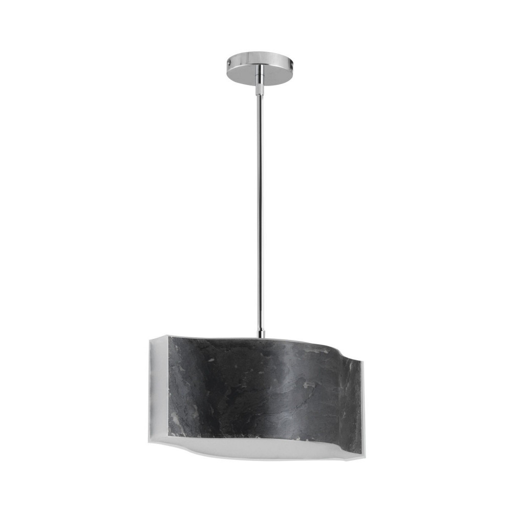 suspension-noire-led-18w-2150-lumens-variable-fibre-de-verre-effet-ardoise-art-deco-moderne-contemporain