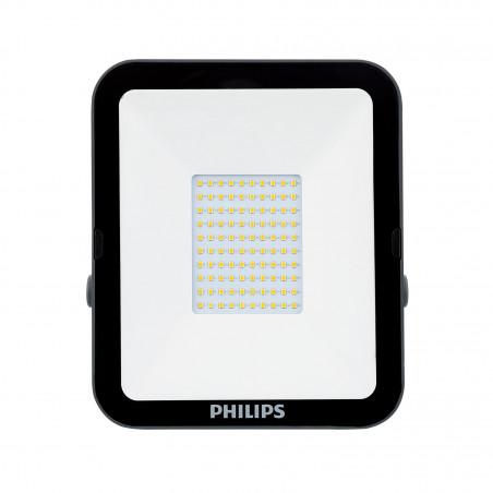 Projecteur à Led 50w philips etanche ip65-ik07-exterieur noir-blanc neutre 4000k-5250 lumens