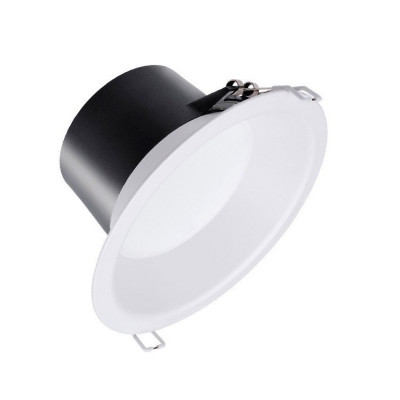 downlight philips led 9w rond blanc encastrable-800 lumens 3000k