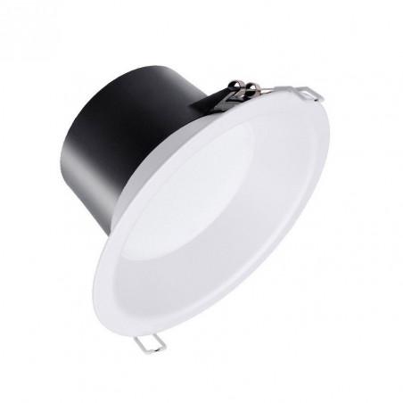 downlight philips led 9w rond blanc encastrable-800 lumens 4000k