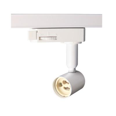 support-pour-ampoule-culot-gu10-tete-blanche-orientable-sur-rail-3-allumages-boutiques-commerces