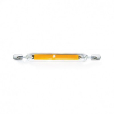 ampoule-led-crayon-r7s-filament 8w-118mm-800-lumens-lampadaire-projecteur 3000k-4000k-6000k