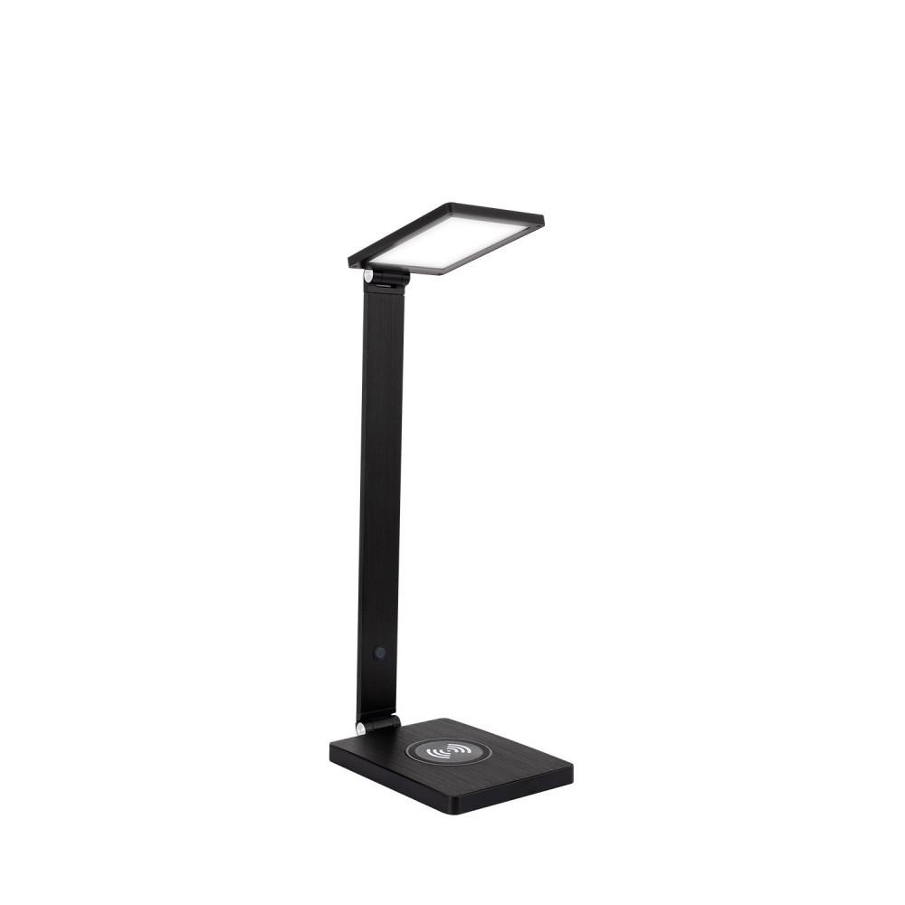 A Led Bureau Lampe Noire Chargeur 8w Mobile Travail Poser Android De Apple Avec Inductif tQrhBdCosx