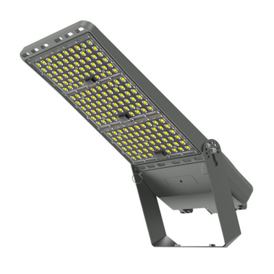 Projecteur 30° symetrique led philips 400w variable-64000 lumens-ip66 professionnel ultra plat eclairage sportif-hangar-tunnel
