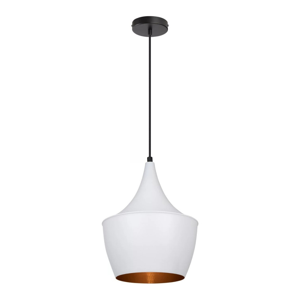 SUSPENSION blanche 44cm culot e27
