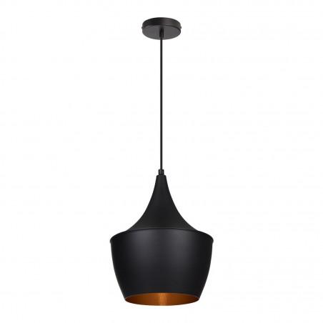 SUSPENSION moderne noire lustre plafonnier coupe chinois culot ampoule e27