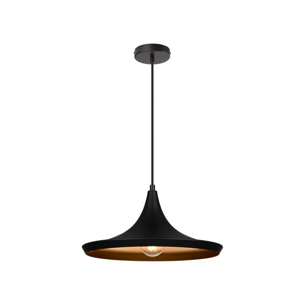suspension-moderne-noire-lustre-plafonnier-culot-ampoule-e27