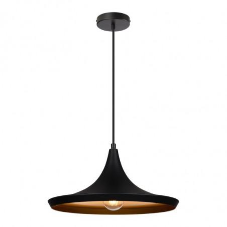 SUSPENSION moderne noire lustre plafonnier culot ampoule e27