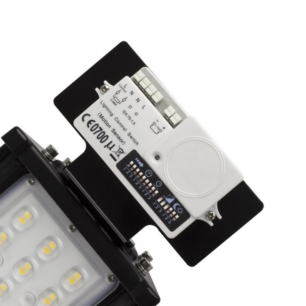 kit détecteur de mouvement + support pour barre-led-suspendu-xiled-pro-ip65-garage-usine-philips-dimmable 1-10v