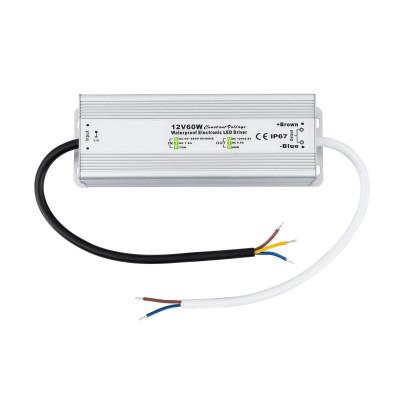 alimentation transformateur de courant spécial LED 60w-12V DC-Étanche ip67