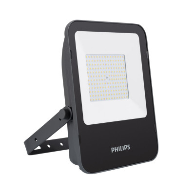 Projecteur à Led 100w philips etanche ip65-ik07-exterieur noir-blanc neutre 4000k-10000 lumens
