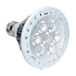 ampoule led par30-7w-600 lumens-3000k-6000k-bleu