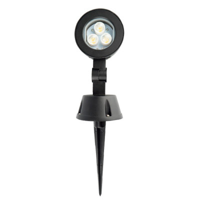 spot projecteur piquet led  ip54 jardin-230v-42cm orientable-120°-3000k