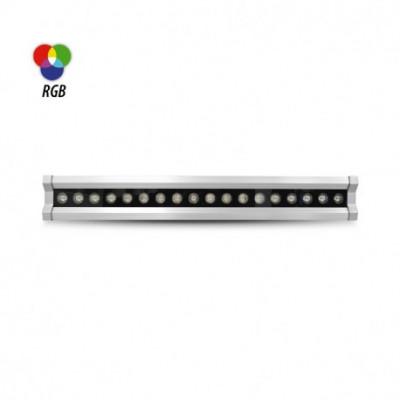 leche mur led rgb 100cm Wall Washer LED Controleur DMX Intégré 36W