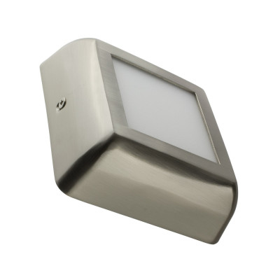 applique-plafonnier-inox-led-carre-6w-installation-en-saillie