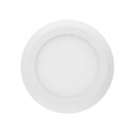 applique plafonnier ROND 6w led installation en saillie BLANC