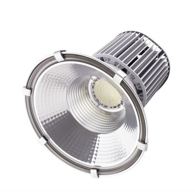 suspension cloche led 100w gamelle xiled haut rendement projecteur pro ip65 garage usine reflecteur
