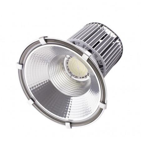 suspension cloche led 100w dimmable gamelle industrielle xiled haut rendement projecteur pro garage usine reflecteur