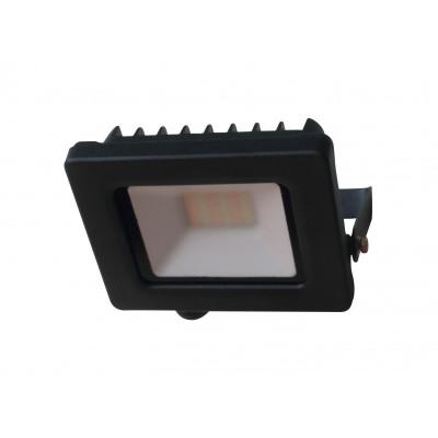 Projecteur led 50W noir avec connecteur direct cable presse etoupe-ip65-4558 lumens + cct