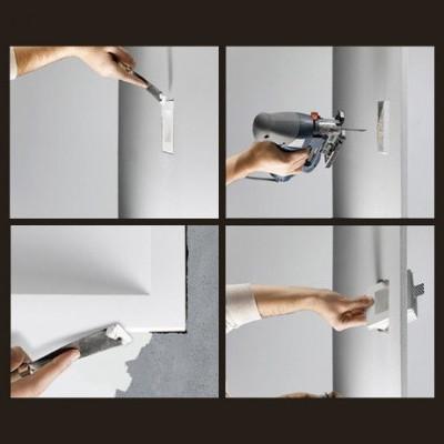 encastré mural spot balisage blanc 220v-1w led escalier mur encastrable blanc
