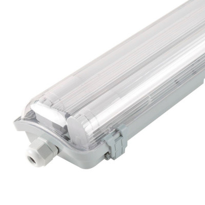 réglette led étanche double 120cm-ip65-36w-garage etabli exterieur parking