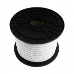 rouleau de 50m bobine neon flexible led 180-220v-blanc neutre 4000k